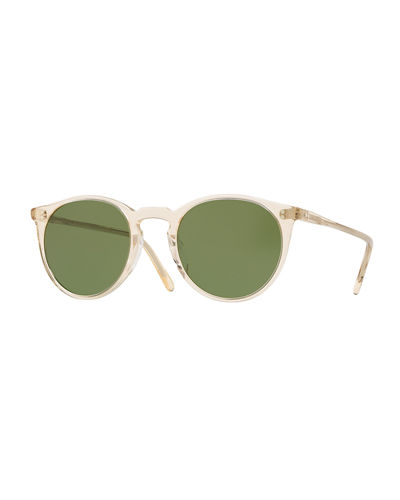 O'Malley Round Acetate Sunglasses