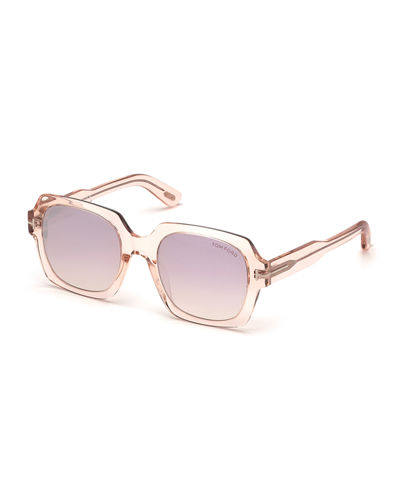 TOM FORD Autumn Square Acetate Sunglasses