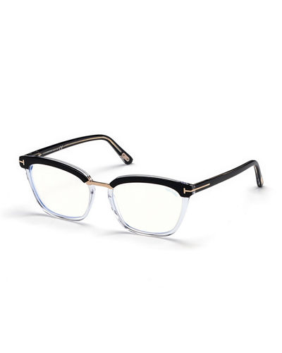 708f077a5579a Cat-Eye Transparent Acetate Optical Frames Quick Look. BLACK  PINK. TOM FORD