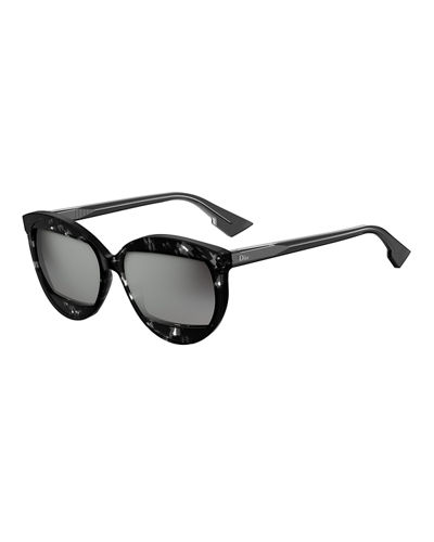 DiorMania2 Square Acetate Sunglasses