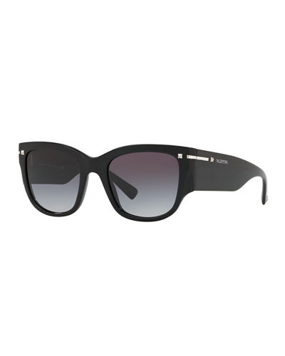 Square Chunky Acetate Sunglasses