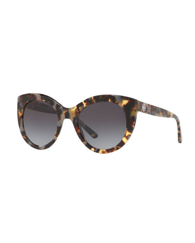 Acetate Cat-Eye Sunglasses