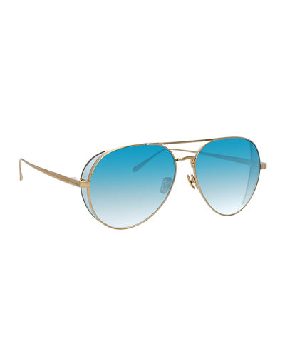 8aae4b3da314 Promotion Titanium Aviator Sunglasses