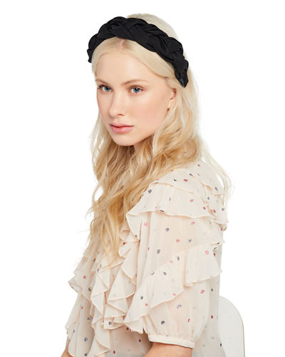 Lorelei Silk Faille Braided Headband