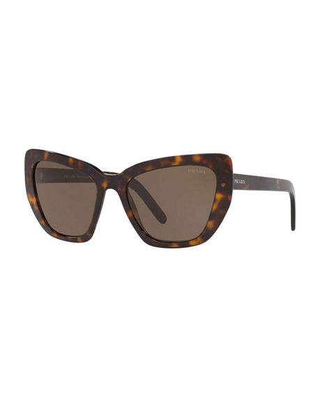 Prada Sunglasses CAT-EYE ACETATE SUNGLASSES