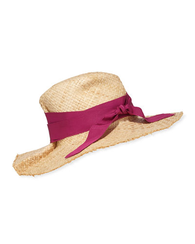 First Aid Raffia Large Brim Hat