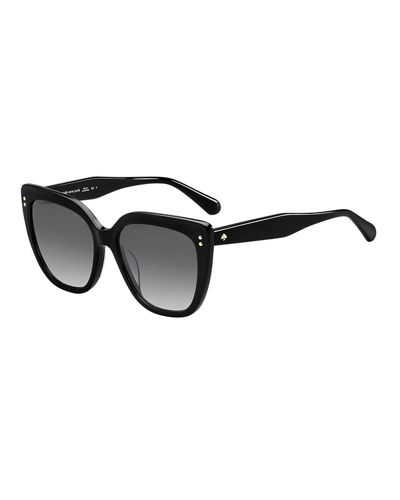 kiyannas square acetate sunglasses