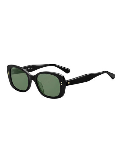 citianigs rectangle acetate sunglasses