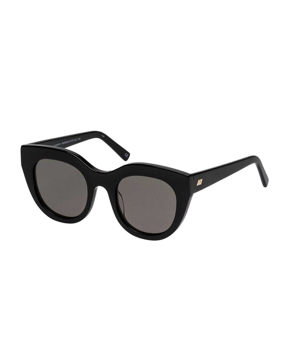 Le Specs Sunglasses AIRY CANARY CAT-EYE SUNGLASSES
