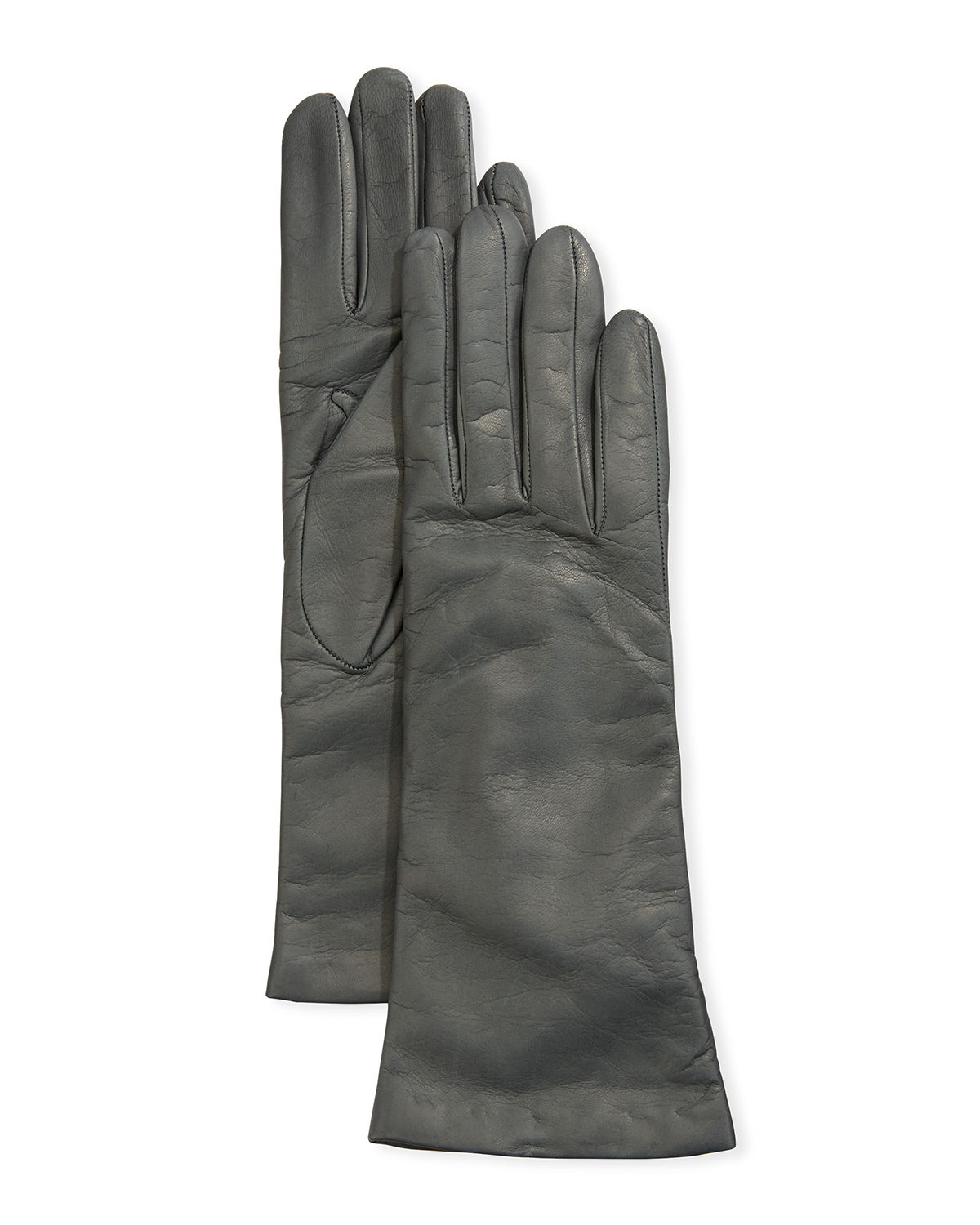Portolano Gloves FOUR-BUTTON LEATHER GLOVES