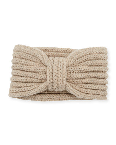 Cashmere Knotted Ear Warmer Headband