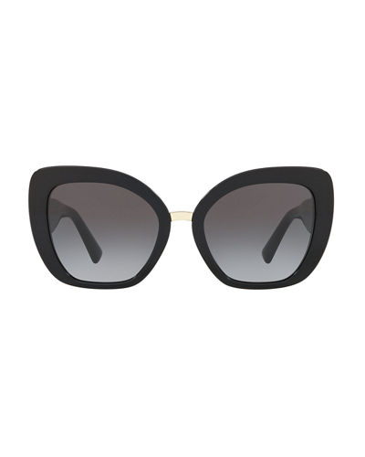 V-Temple Acetate Butterfly Sunglasses