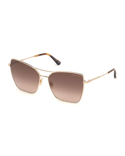Sye Butterfly Metal Sunglasses