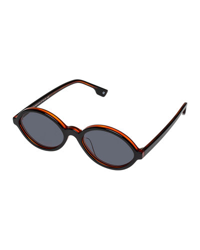 Impromptus Oval Acetate Sunglasses