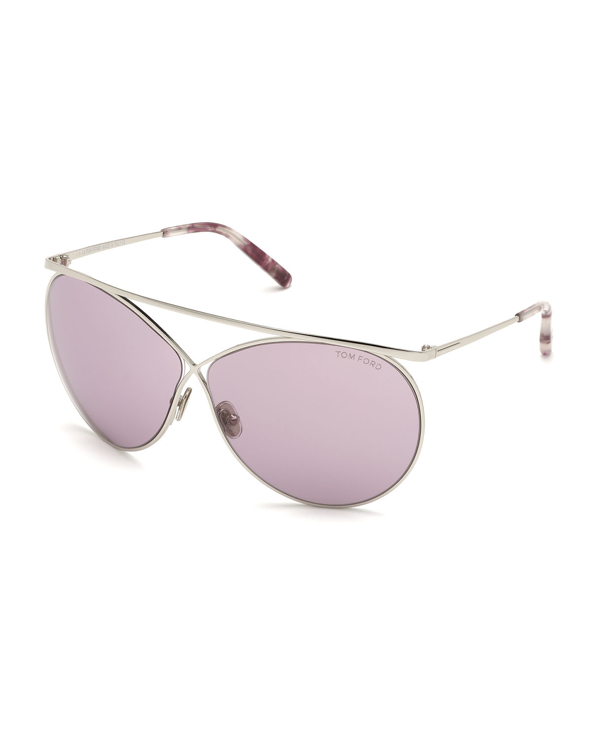 Tom Ford Sunglasses STEVIE METAL BUTTERFLY SUNGLASSES