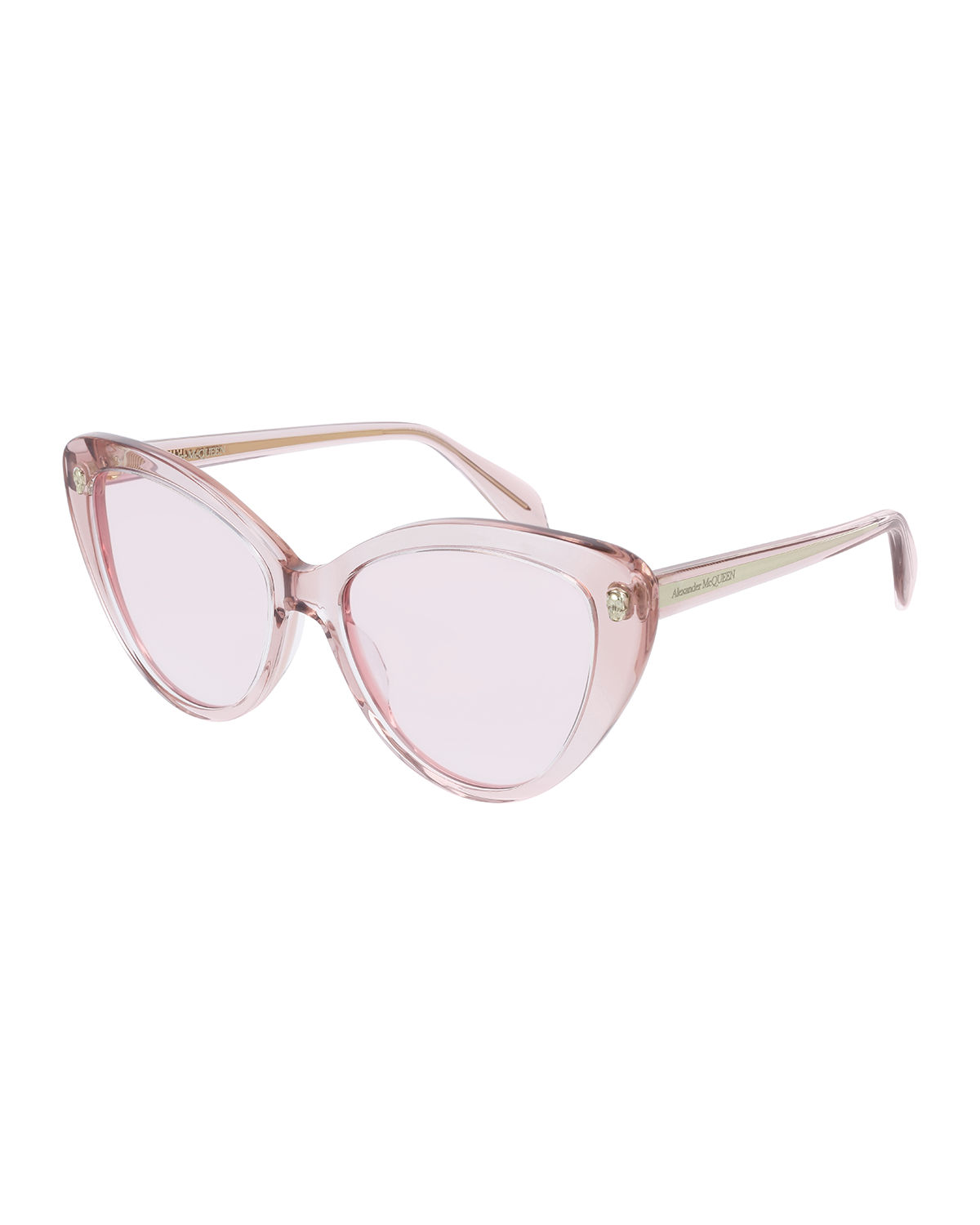 Alexander Mcqueen Sunglasses CAT-EYE ACETATE SUNGLASSES