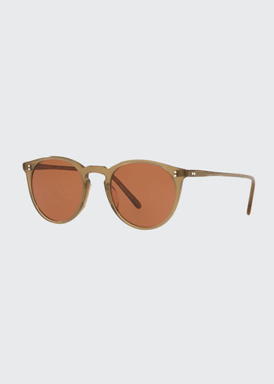 O'Malley Oval Acetate Sunglasses