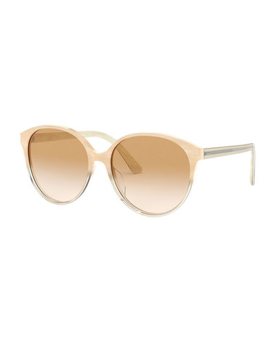 Brooktree Oval Acetate Sunglasses