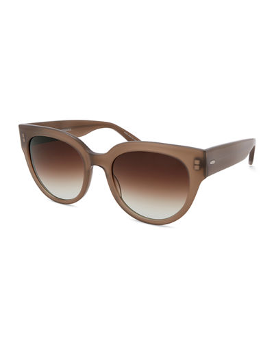 Syrinx Cat-Eye Zyl Acetate Sunglasses