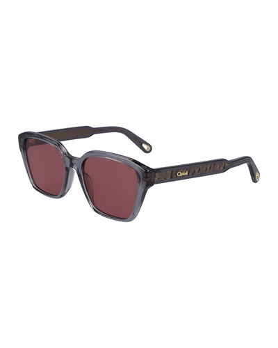 Willow Square Acetate Sunglasses