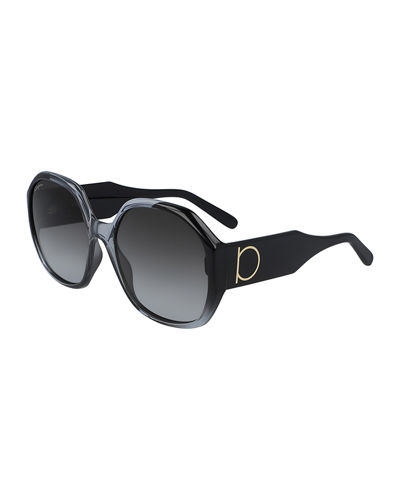 Square Acetate Gancio Sunglasses