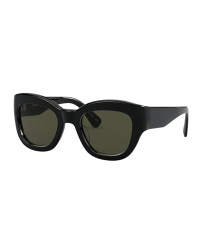 Lalit Square Acetate Sunglasses