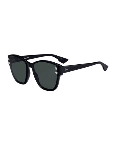 DiorAdd3 Monochromatic Studded Sunglasses