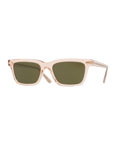BA CC Rectangle Acetate Sunglasses
