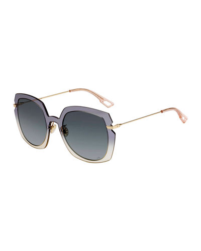 DiorAttitude1 Square Sunglasses