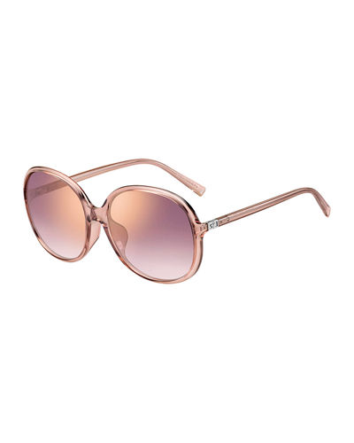 Round Propionate Sunglasses