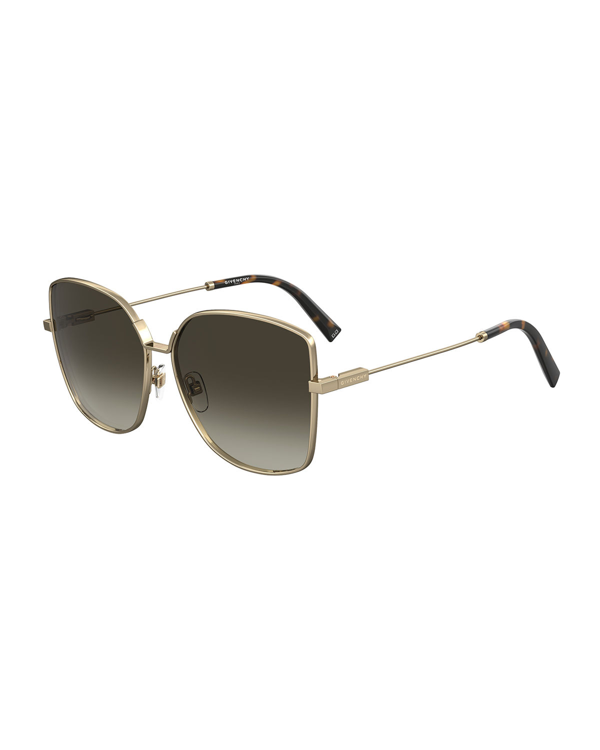 Givenchy SQUARE METAL SUNGLASSES