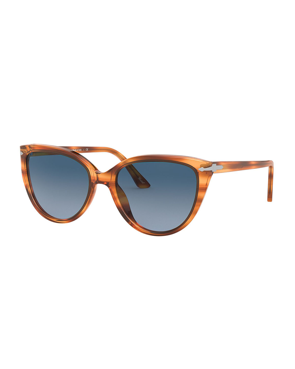 Persol OVERSIZED ACETATE CAT-EYE SUNGLASSES