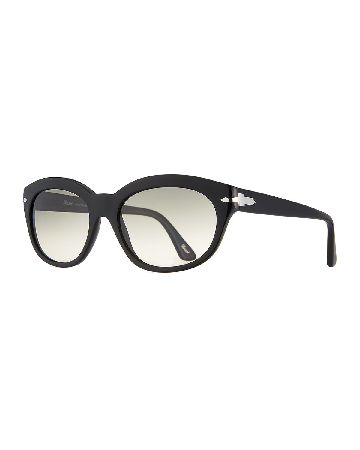 Persol OVAL ACETATE SUNGLASSES