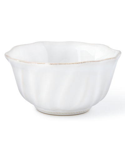 Juliska Madeleine Whitewash Cereal/Ice Cream Bowl