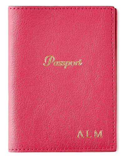 Passport Case  Personalized