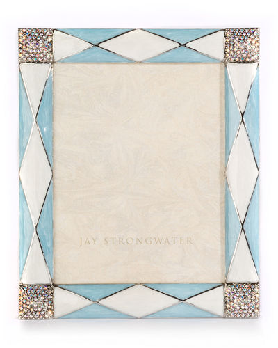 Jay Strongwater Alex Argyle Picture Frame, 3