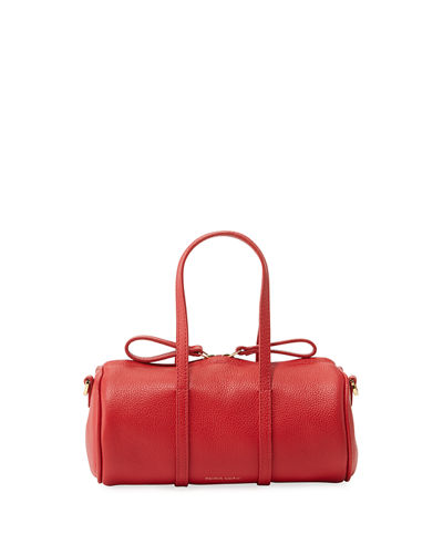 Pebbled Mini Mini Leather Duffel Bag