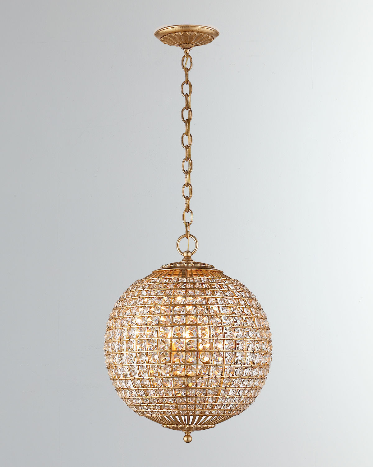 Aerin Clothing RENWICK SMALL SPHERE CHANDELIER
