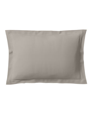 ANNE DE SOLENE Vexin 200 Thread-Count Standard Sham in Brume
