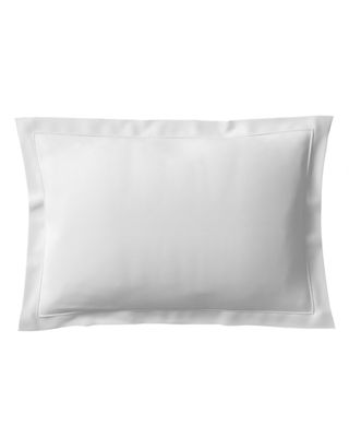 ANNE DE SOLENE Vexin 200 Thread-Count Standard Sham in Blanc