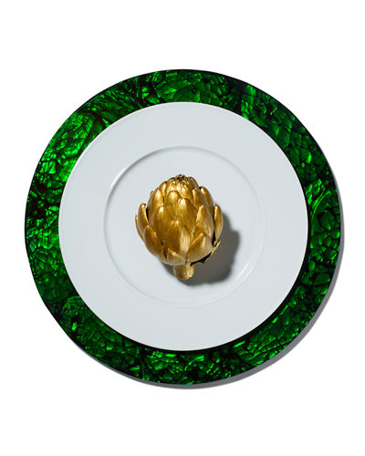 Mother of Pearl Charger Plate