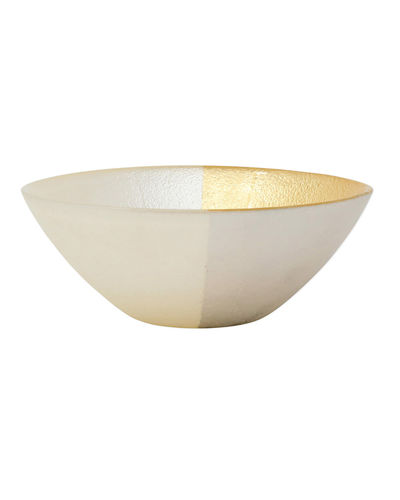 Two-Tone Glass Cereal Bowl
