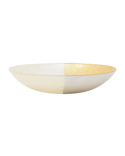 Two-Tone Glass Small Bowl