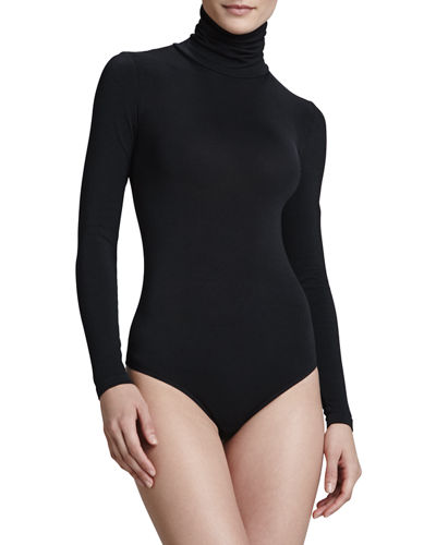 8c23260a32 Wolford Colorado String-Body Turtleneck