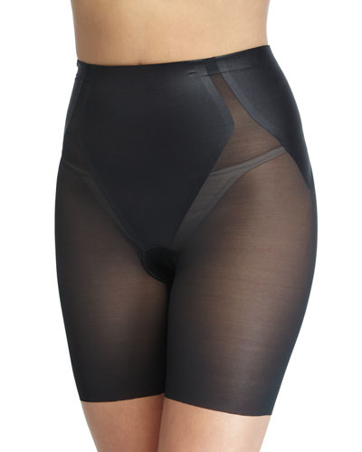 Haute Contour Sheer Mid-Thigh Shaper Shorts