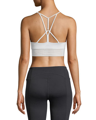 Lush Strappy-Back Sports Bra