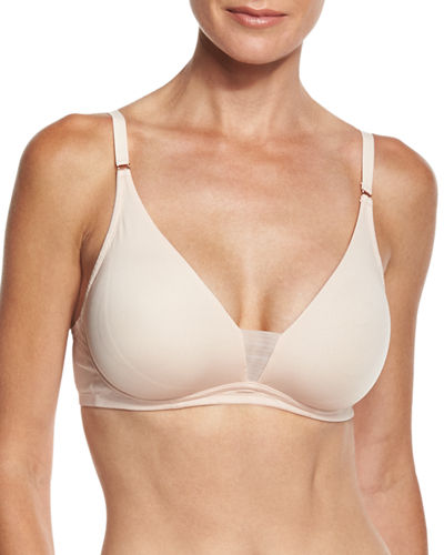 Evolution Mesh-Inset Soft Bra