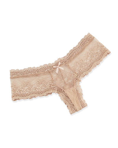 Colette Lace Boy-Leg Thong
