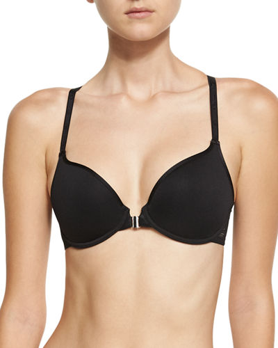 Ideal T-Back Front-Close Spacer-Cup Bra