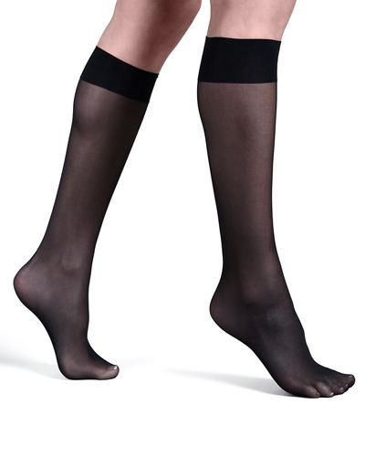 Satin Touch Knee-Highs